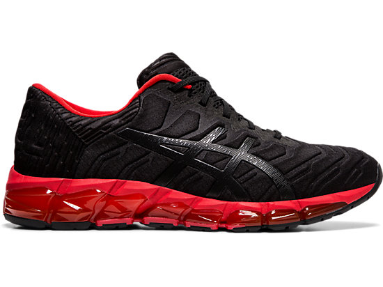 5ddd02aeec5d GEL-QUANTUM 360 5 | MEN | Black/Speed Red | ASICS US