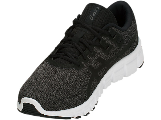 Front Left view of GEL-QUANTUM, DARK GREY/BLACK