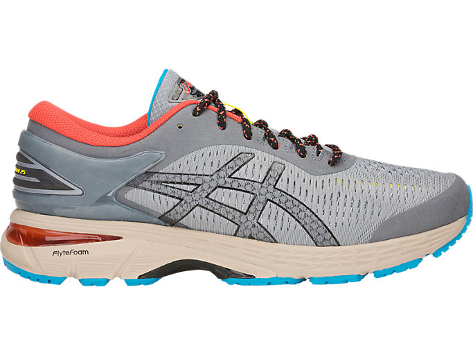 Men's GEL Kayano 25 | Stone GreyBlack | Running Shoes | ASICS