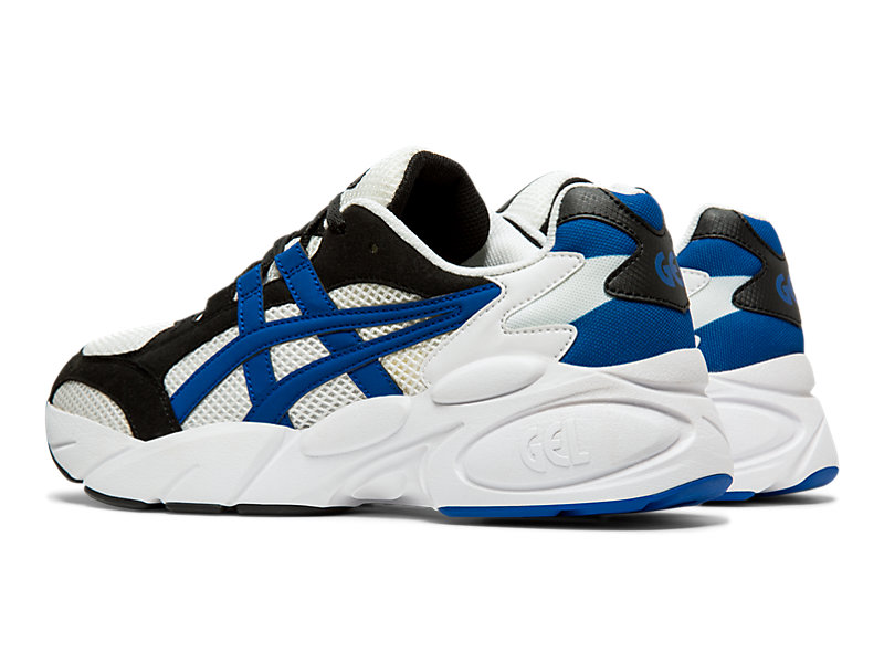 GEL-BND White/Asics Blue 9 FL