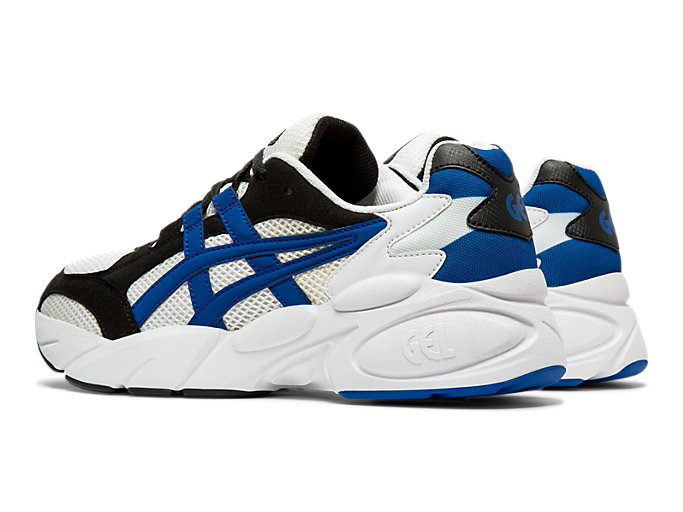 Front Left view of GEL-BND™, WHITE/ASICS BLUE