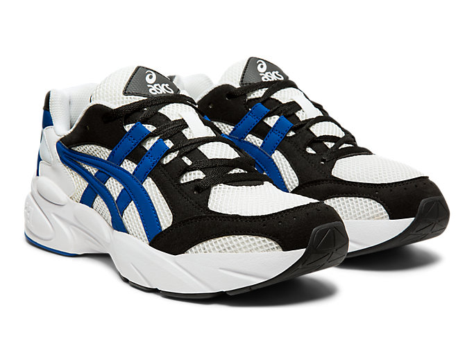 Front Right view of GEL-BND™, WHITE/ASICS BLUE