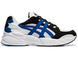 Right side view of GEL-BND™, WHITE/ASICS BLUE