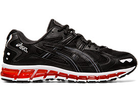 Right side view of GEL-KAYANO 5 360, BLACK/BLACK