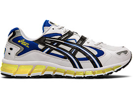 Right side view of GEL-KAYANO 5 360, WHITE/BLACK