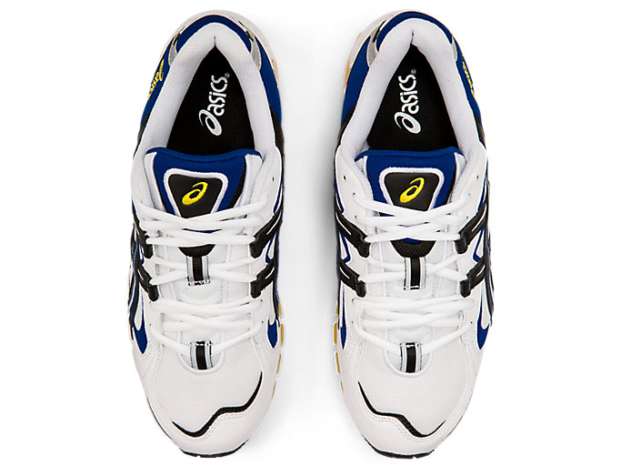 Top view of GEL-KAYANO™ 5 360, WHITE/BLACK