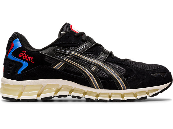 Right side view of GEL-KAYANO™ 5 360, BLACK/BLACK
