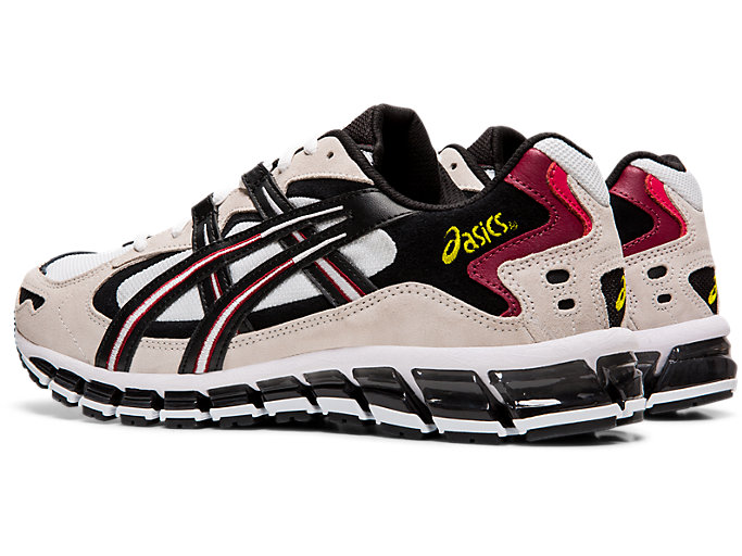 Front Left view of GEL-KAYANO™ 5 360, WHITE/BLACK