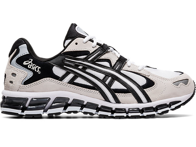 Right side view of GEL-KAYANO™ 5 360, WHITE/BLACK