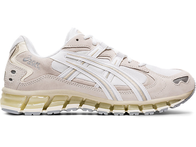 Right side view of GEL-KAYANO™ 5 360, WHITE/CREAM