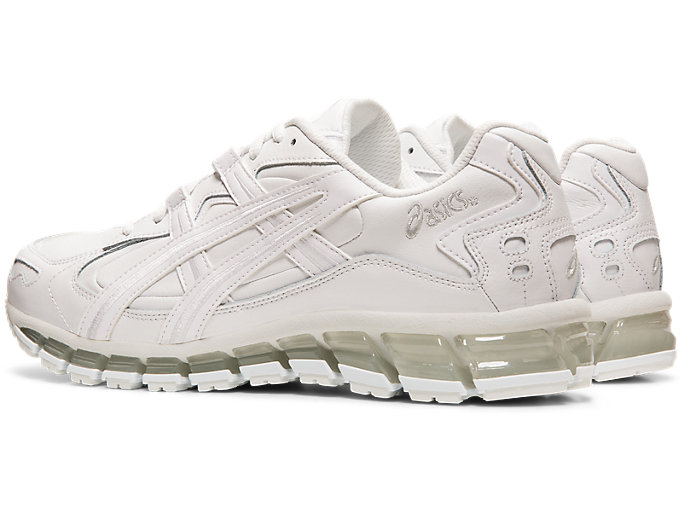 Front Left view of GEL-KAYANO 5 360, WHITE/WHITE