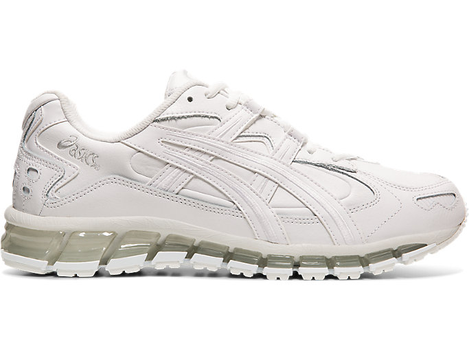 Right side view of GEL-KAYANO 5 360, WHITE/WHITE