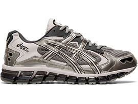 Right side view of GEL-KAYANO 5 360, SHEET ROCK/SILVER