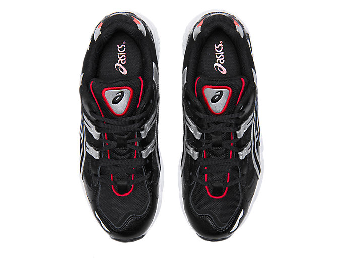 Top view of GEL-KAYANO™ 5 OG, BLACK/SILVER