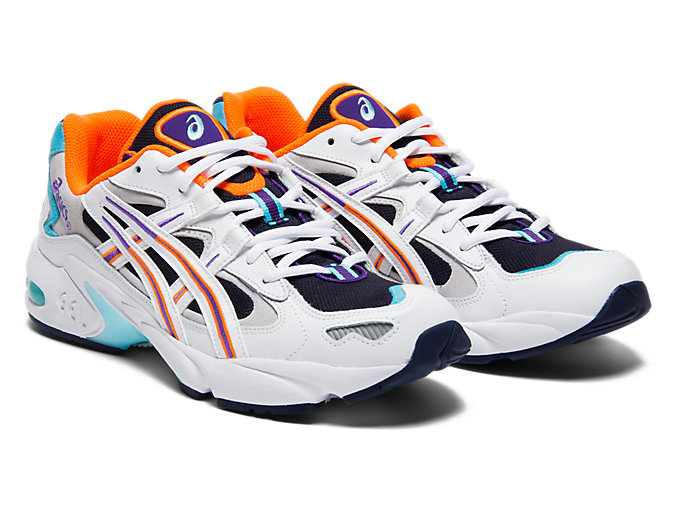 Front Right view of GEL-KAYANO™ 5 OG, MIDNIGHT/WHITE