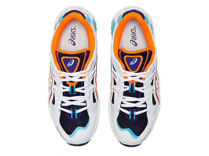 Top view of GEL-KAYANO™ 5 OG, MIDNIGHT/WHITE