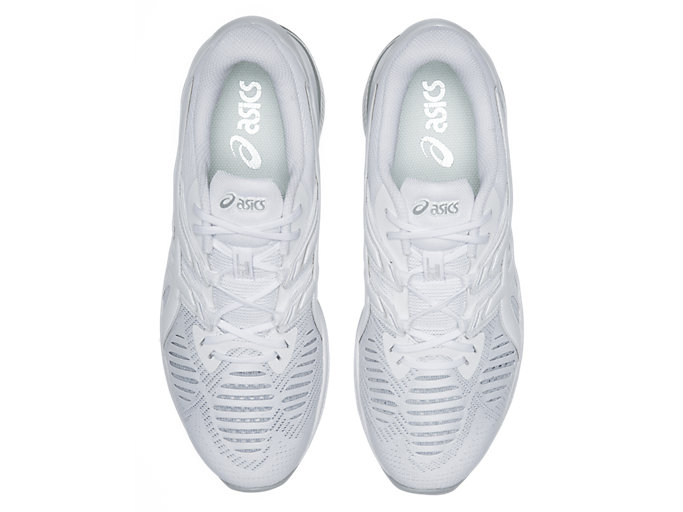 Top view of GEL-QUANTUM INFINITY JIN, WHITE/WHITE