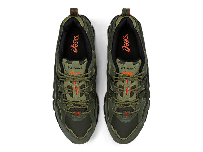 Top view of GEL-NANDI 360, OLIVE CANVAS/OLIVE CANVAS