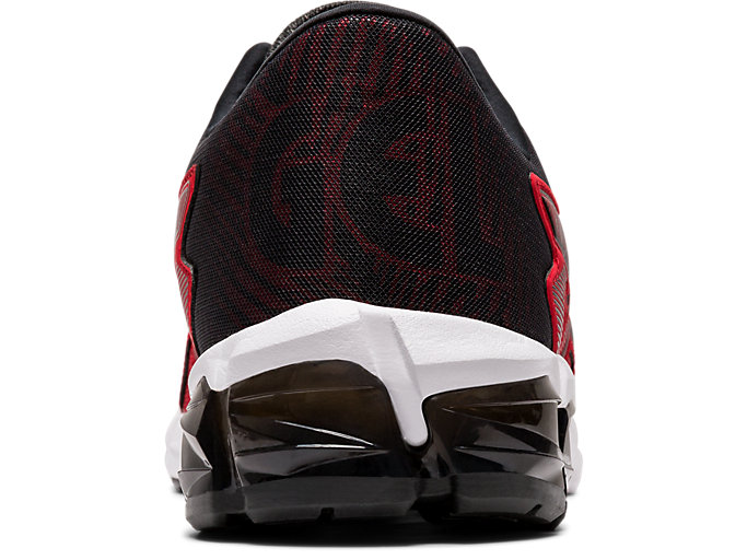 Back view of GEL-QUANTUM 90 2, CLASSIC RED/BLACK