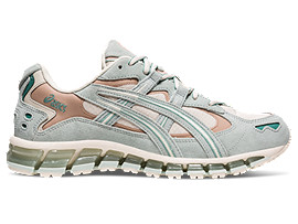 Right side view of GEL-KAYANO 5 360 G-TX, OATMEAL/LICHEN ROCK