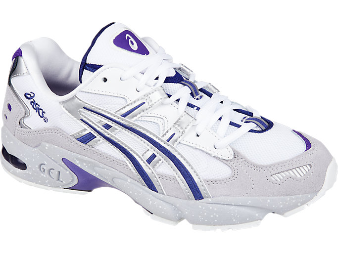 Front Right view of GEL-KAYANO™ 5 OG, SILVER/WHITE