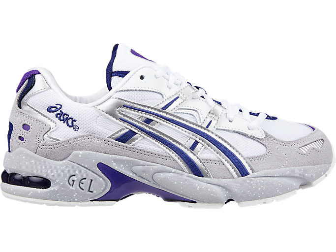 Right side view of GEL-KAYANO™ 5 OG, SILVER/WHITE