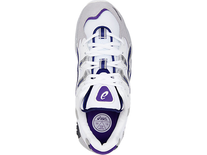 Top view of GEL-KAYANO™ 5 OG, SILVER/WHITE
