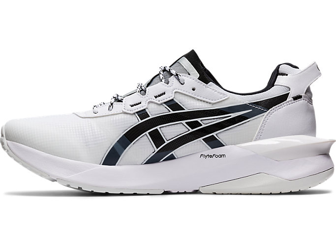 Left side view of GEL-LYTE XXX, WHITE/BLACK