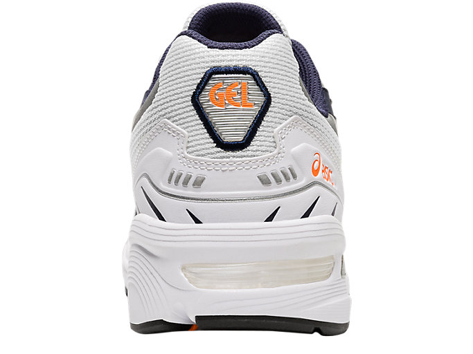 Back view of GEL-1090, WHITE/MIDNIGHT
