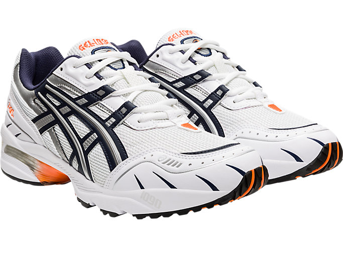 Front Right view of GEL-1090, WHITE/MIDNIGHT
