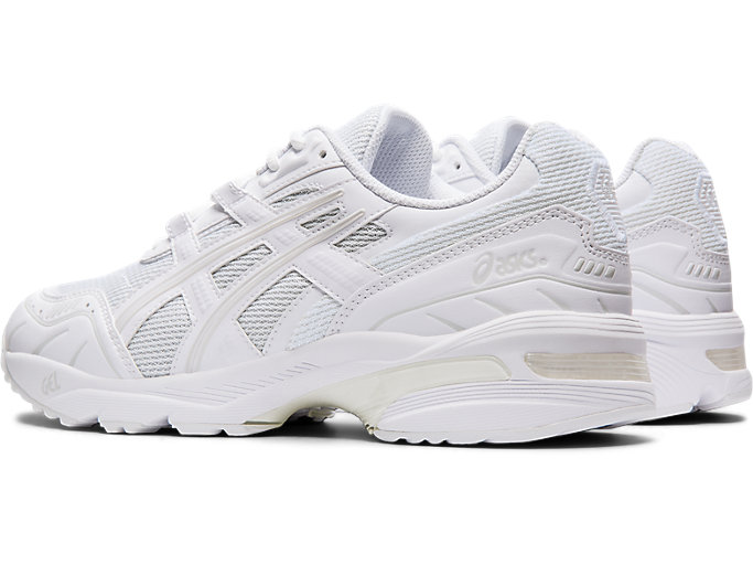 Front Left view of GEL-1090, WHITE/WHITE