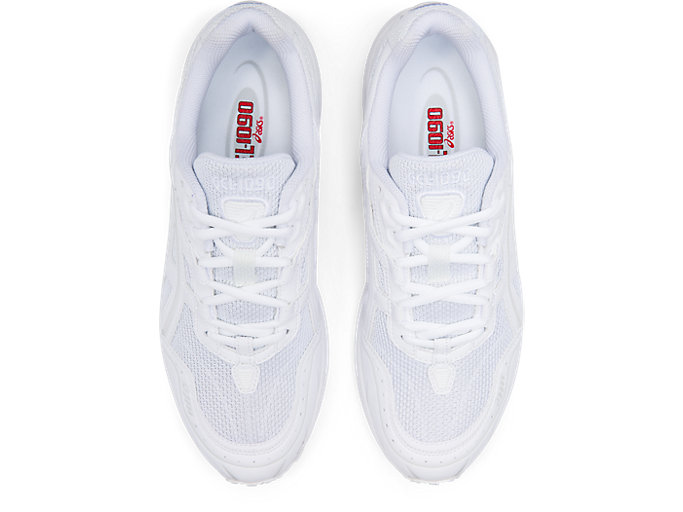 Top view of GEL-1090, WHITE/WHITE