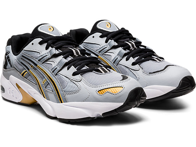 Front Right view of GEL-KAYANO 5 OG, PIEDMONT GREY/SHEET ROCK