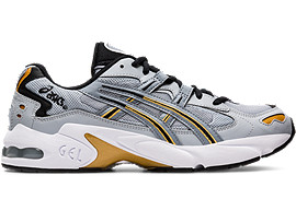 Right side view of GEL-KAYANO 5 OG, PIEDMONT GREY/SHEET ROCK