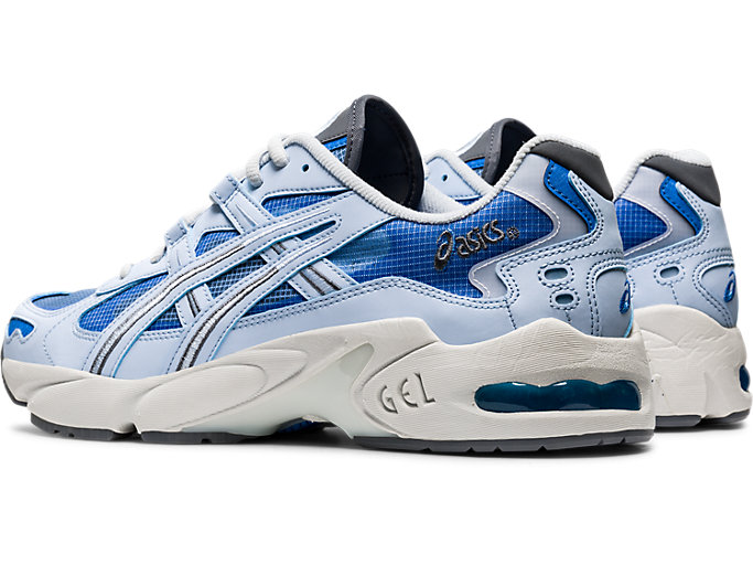 Front Left view of GEL-KAYANO™ 5 OG, SOFT SKY/SOFT SKY