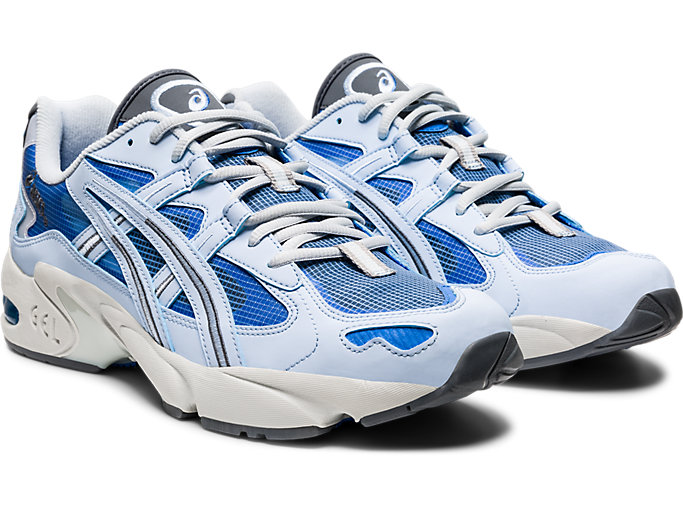 Front Right view of GEL-KAYANO™ 5 OG, SOFT SKY/SOFT SKY