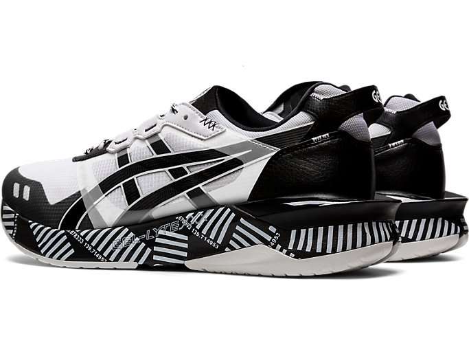 Front Left view of GEL-LYTE XXX, WHITE/BLACK