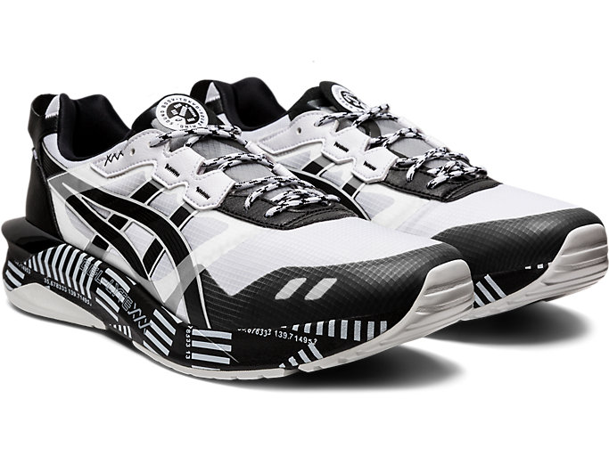 Front Right view of GEL-LYTE XXX, WHITE/BLACK