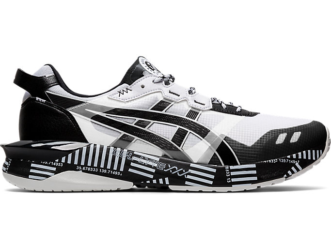 Right side view of GEL-LYTE XXX, WHITE/BLACK