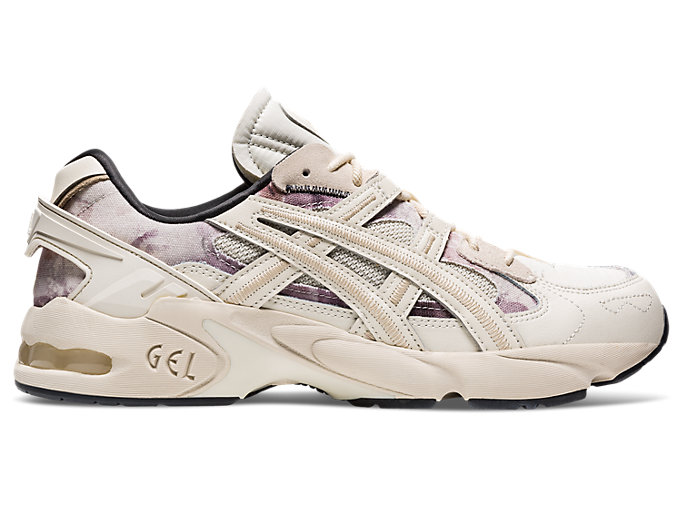 Right side view of GEL-KAYANO 5 RE, BIRCH/BIRCH