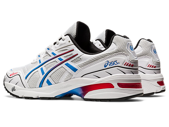 Front Left view of GEL-1090, WHITE/BLUE COAST