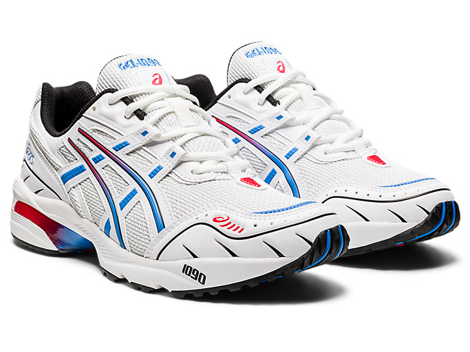 Front Right view of GEL-1090, WHITE/BLUE COAST