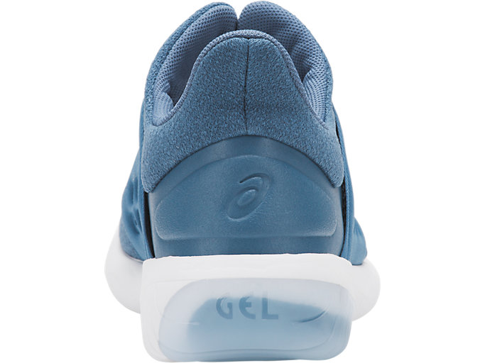 Back view of GEL-KENUN LYTE, AZURE/AZURE