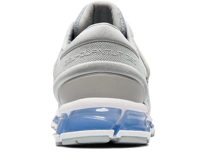 Back view of GEL-QUANTUM 360 4, MID GREY/GLACIER GREY