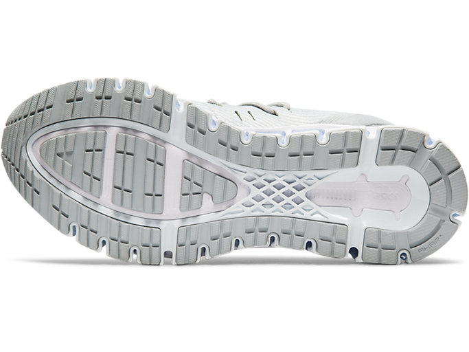 Bottom view of GEL-QUANTUM 360 4, MID GREY/GLACIER GREY