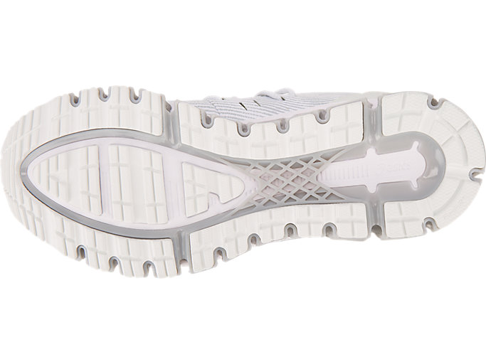 Bottom view of GEL-QUANTUM 360 4, WHITE/MID GREY