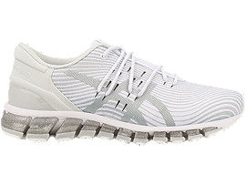 Right side view of GEL-QUANTUM 360 4, WHITE/MID GREY