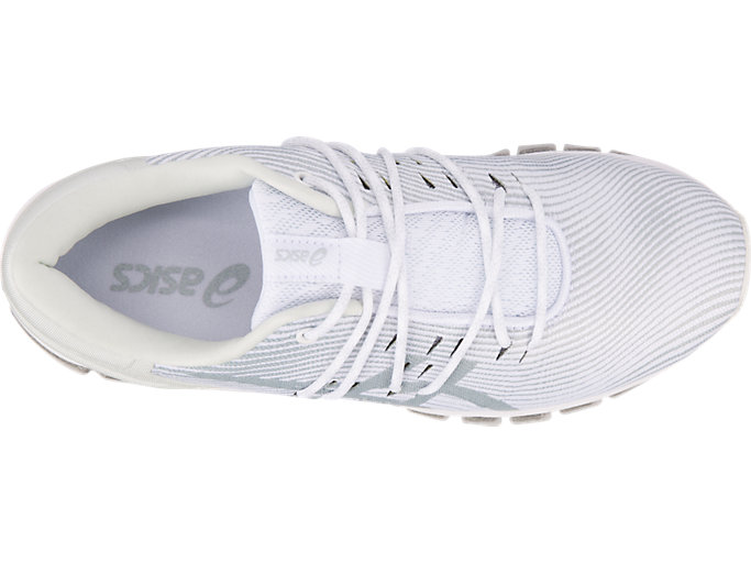 Top view of GEL-QUANTUM 360 4, WHITE/MID GREY