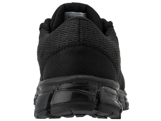 Back view of GEL-QUANTUM 90, BLACK/BLACK