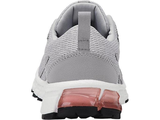 Back view of GEL-QUANTUM 90, MID GREY/MID GREY